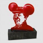ARNO Mickey Mao (2010) sculpture laiton 39.5x35x20cm 4900 €