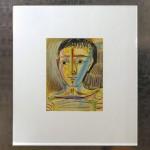 Homme en marinière 1965. Hand signed Lithograph. 38x28cm.2900E