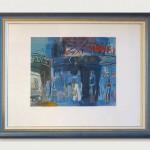 La réception. Lithograph. Mourlot Lithographe. 50x65cm.             1450€