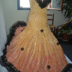 Flamenco - sculpture mosaique sur plâtre - 24 000€